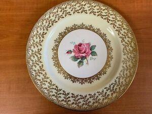 VINTAGE PARAGON ENGLAND FINE BONE CHINA DISPLAY/DINNER PLATE - Numbered #V006-03