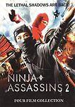 Ninja Assasins, Vol. 2: Four Film Collection (DVD, 2010)