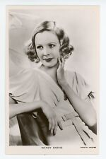 Real Photo postcard of movie star WENDY BARRIE