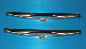 Ford Anglia Popular Prefect 100E Windscreen Windshield Wiper Blades Genuine TEX