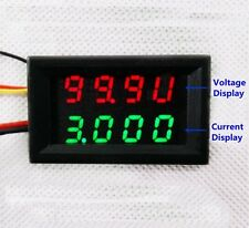 DC Combo Meter Voltmeter Ammeter 0-100V 0-999.9mA 1A 2A 3A High Precision GZ