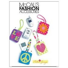 New McCall'S Fashion Accessories Cell Phone & Mp3 Player Cases Sewing Pattern