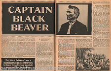 Captain Black Beaver - A Honored Delaware Indian