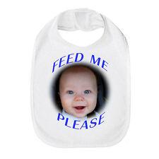 Bavoir bébé personnalisé toute image tout texte cadeau idéal