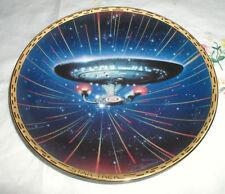 STAR TREK U.S.S. ENTERPRISE NCC-1701-D  PLATE  COA