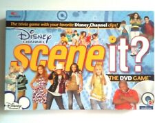 Mattel Brand - Disney Channel - Scene It? The Dvd Family Board Game - Pre-owned