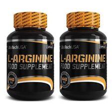 2 x L-Arginine 90Kapseln von BioTech USA  für mehr Pump beim Training + Bonus