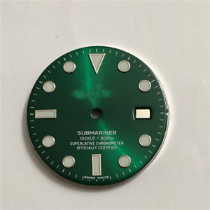 Rox Watch Spare parts dial compatiblie with 2836 3135 and 3130 no date  movement
