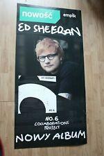 Ed Sheeran - No.6 Collaborations Project POSTER CARDBOARD 2019 HUGE  PROMO RARE
