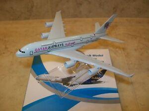 16cm Qatar A380 model
