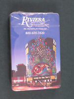Souvenir Playing Cards - Riviera Hotel & Casino Las Vegas - New/Sealed (BR1)