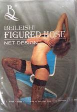 Geblümte Damen-Strapsstrümpfe aus Nylon für glamouröse Anlässe