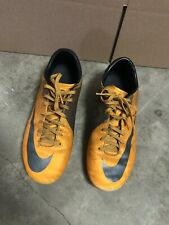 New listing Nike Mens Mercurial Victory ll FG 442005-800 Orange Grey Soccer Cleats Size 10