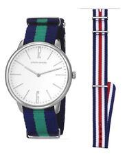 Pierre Cardin Men's Watch pc106991f10 La Gloire Analogue Textile Blue,Green,Red,