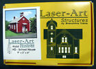 Laser Art Building Kit HO Scale School House 644