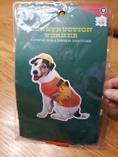 Boots & Barkley Construction Worker Costume for Small Dogs Tools Hat Target 2005