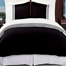 Ultra Soft Microfiber Astrid Embroidered 3-Piece Duvet Cover Sets