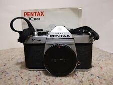 Asahi Pentax K1000 35mm SLR Camera Body + Manual