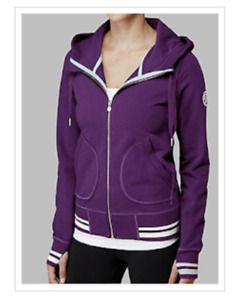 LULULEMON Flashback Hoodie Zip Up Jacket Sz 6