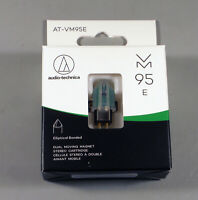 Audio Technica AT-VM95E Phono Cartridge for turntable Half-inch Mnt  Retail pkg