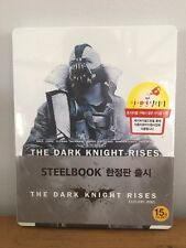 The Dark Knight Rises White Steelbook - Korean Exclusive - Mint Sealed