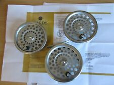 "V good vintage Hardy Marquis no. 6 trout fly fishing reel 3.25"" & 2 spare spools"