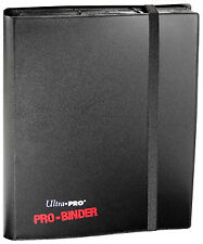 9 Pocket Pro-Binder - Black Ultra Pro GAMING SUPPLY BRAND NEW ABUGames