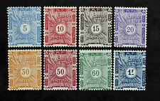 Sello SOMALÍS Stamp - Yvert y Tellier Tasa n°1 à 8 Nsg (Col3)