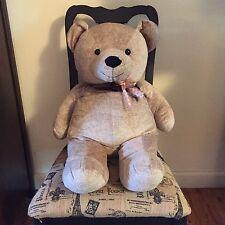 """Very Big Light Brown Teddy Bear/32""""/Chosun International/Soft/Cuddly/Ages 3+"""