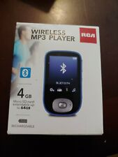 RCA Wireless MP3 Player, 5 hours Bluetooth 4GB Full Color Display BRAND NEW