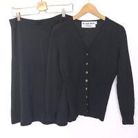 St. John Knits Vintage Set Skirt And Sweater Santana Knit Women's