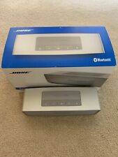 Bose Silver Soundlink Mini II Bluetooth Speaker With Box No Charger