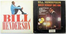 BILL HENDERSON LOT OF 2 JAZZ VOCAL LPs #2620