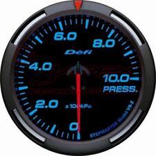 DEFI Link Meter Racer Gauge PRESSURE Blue Face 60mm SI models DF11604