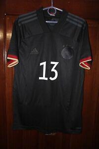 Germany Deutschland 2020 2021 Away Euro Black Adidas shirt jersey Size M