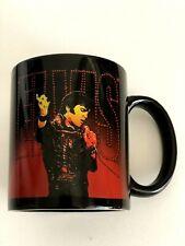 Elvis mug Black King Of Rock N Roll Coffee Cup Licensed Official