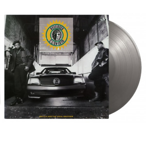 PETE ROCK & C. L. SMOOTH - MECCA AND THE SOUL BROTHER  2 Silver LP VINYL ALBUM