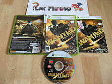 XBOX 360 WANTED WEAPONS OF FATE COMPLETO PAL ESPAÑA