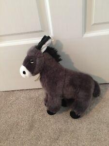 """Aurora Miyoni Tots Donkey Plush Standing Foal Mule Soft 10"""""""