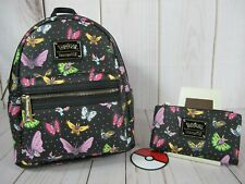 Loungefly Pokemon Butterfly Backpack & Wallet ~ NWT