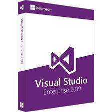 Visual Studio Enterprise 2019 genuine key..