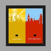Minifigure Display Frame Lego Leicester Square Lester Hamleys Royal Guard