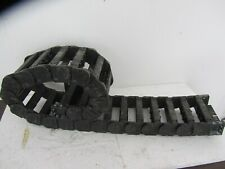 """IGUS E-CHAIN WIRE, 38.01.075, 7"""" WIDE X 60"""" LONG, CABLE/ HOSE TRACK, USED"""