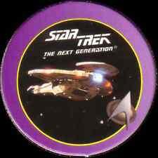 STAR TREK THE NEXT GENERATION, CARDASSIAN GALOR, STARTDISC POG MILK CAP, # 12