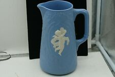 William Brownfield and Son  Blue  CUPID Jug C.1870 1879