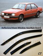 For Opel Ascona C Sd 1981-1988, Windows Visors Deflector Sun Rain Guard