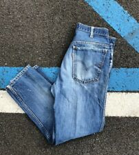 Vintage Levis Jeans BIG E One Sided TAB 30 X 27.5 #8 Stamp Talon Zipper