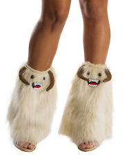 Star Wars Wampa Ice Creature Faux Adult Womens Fluffies Legwear Boot Toppers