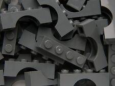 Lego Arche 1x4 x20 pièces # Dark Gris Pierre # Pont Fenêtre Mur Château +