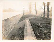 WWII 1944 St. Denis Canal France US Army 2nd Mil Railway photo #8 Ecluse